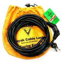 Lasso Products, Lasso Kong Cable Kayak Lock for Closed Deck Touring Kayaks
