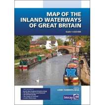 Imray Guides, Map of the Inland Waterways of Great Britain