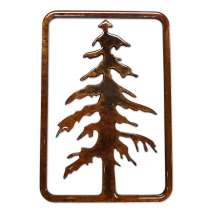 Magnets & Metal Art, Tree in Frame MAGNET