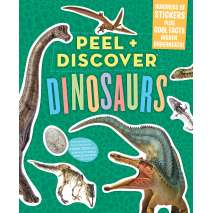 Activity Books: Dinos, Peel + Discover: Dinosaurs