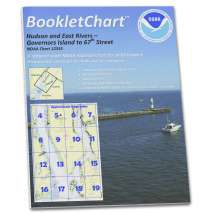 Atlantic Coast Charts :NOAA BookletChart 12335: Hudson and East Rivers Governors Island to 67th Street