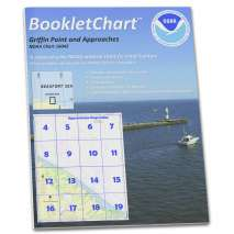 Alaska Charts :NOAA Booklet Chart 16042: Griffin Pt. and approaches