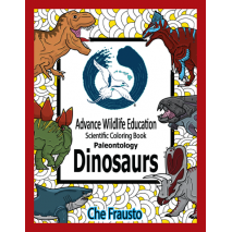 New Since Previous Catalog  :Prehistoric Wildlife: Dinosaurs Educational Coloring Book