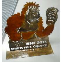 Custom Metal Work :Humboldt Homebrew Festival Trophy