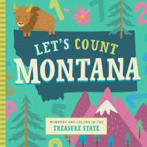 Board Books :Let's Count Montana