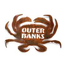 Custom Metal Work :Outer Banks Crab MAGNET