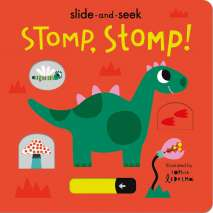 Board Books: Dinos :Stomp, Stomp!