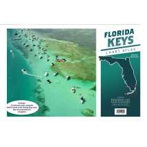 Florida and Southeastern USA Travel & Recreation :Florida Keys Chart Atlas (12x18 Spiral-bound)