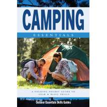 Camping & Hiking :Camping Essentials: A Folding Pocket Guide to Gear and Basics for Rookie Campers