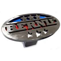 Hitch Receiver Covers :BERNIE Trailer Hitch Cover - Heavy duty steel - Made in USA