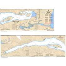 Pacific Region Charts :CHS Chart 3061: Harrison Lake and/et Harrison River