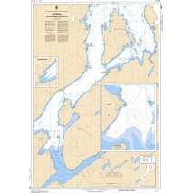 Atlantic Region Charts :CHS Chart 4866: Botwood and Approaches / et les approches