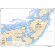Atlantic Region Charts :CHS Chart 4913: Caraquet Harbour, Baie de Shippegan and / et Miscou Harbour