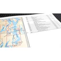 Washington Travel & Recreation Guides :Puget Sound Chart Atlas (12x18 spiral bound)