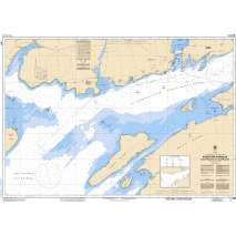 Central and Arctic Region Charts :CHS Chart 2017: Kingston Harbour and Approaches/et les approches