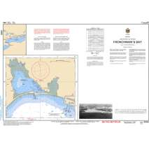 Central and Arctic Region Charts :CHS Chart 2055: Frenchman's Bay