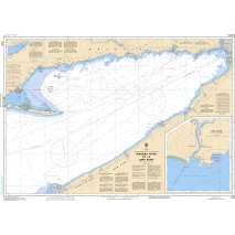Central and Arctic Region Charts :CHS Chart 2120: Niagara River to/à Long Point