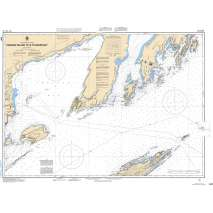Central and Arctic Region Charts :CHS Chart 2301: Passage Island to/à Thunder Bay