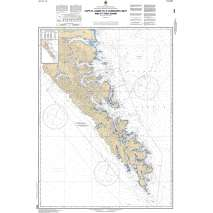 Central and Arctic Region Charts :CHS Chart 3853: Cape St. James to/à Cumshewa Inlet and/et Tasu Sound