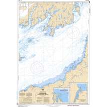 Atlantic Region Charts :CHS Chart 4832: Fortune Bay: Southern Portion / Partie Sud