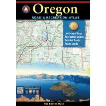 Oregon Travel & Recreation Guides :Oregon Road and Recreation Atlas 9th Edition