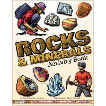 Rocks & Geology :Rocks & Minerals Activity Book: An Introduction to Geology for Kids