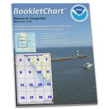 Gulf Coast Charts :NOAA Booklet Chart 1113A: Havana to Tampa Bay (Oil and Gas Leasing Areas)