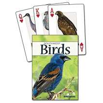 Bird Identification Guides :Birds of the Southwest Playing Cards