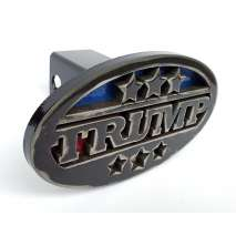 Hitch Receiver Covers :TRUMP Trailer Hitch Cover - Heavy duty steel - Made in USA