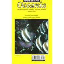 Pacific Ocean & Islands :Reference Map of Oceania, 2nd edition