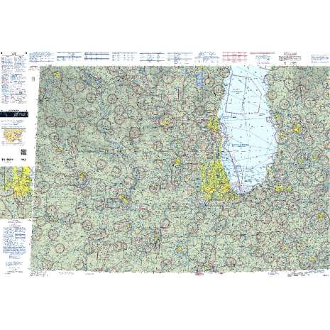 Sectional Charts, FAA Chart:  VFR Sectional CHICAGO