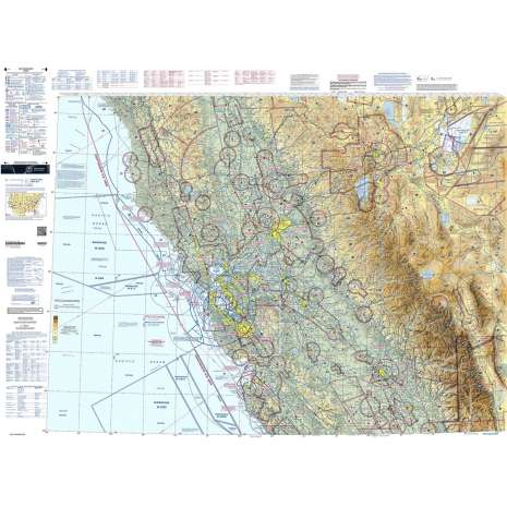 Sectional Charts, FAA Chart:  VFR Sectional SAN FRANCISCO