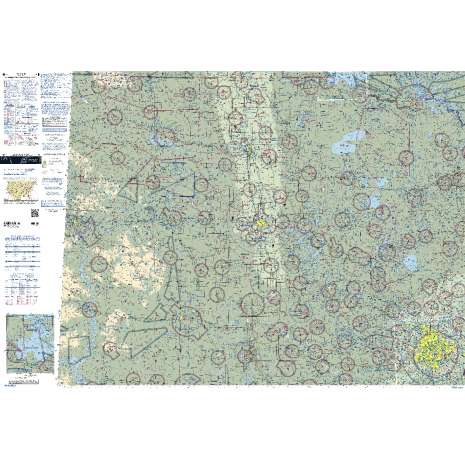 Sectional Charts :FAA Chart:  VFR Sectional TWIN CITIES