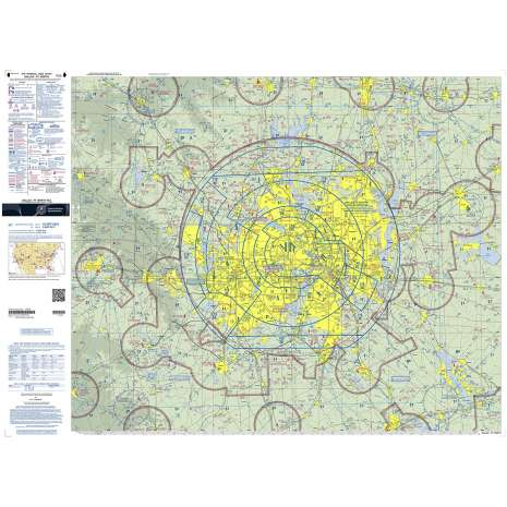 Terminal Area Charts (TAC) :FAA Chart:  VFR TTHAC DALLAS FT WOR