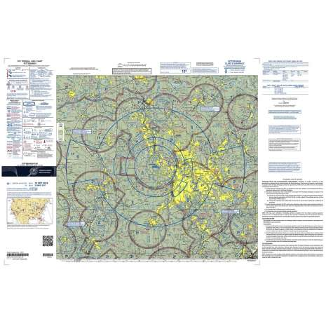 Terminal Area Charts (TAC) :FAA Chart:  VFR TAC PITTSBURGH