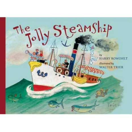 Boats, Trains, Planes, Cars, etc. :The Jolly Steamship
