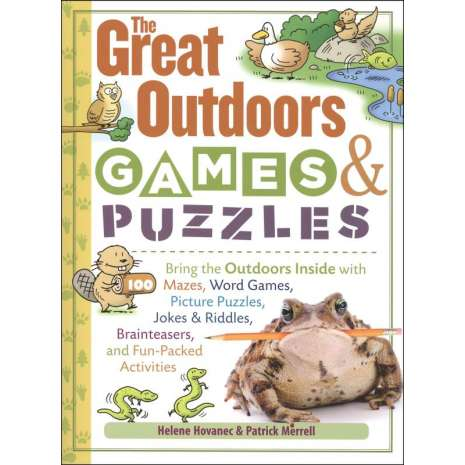 Children's Outdoors :The Great Outdoors Games & Puzzles