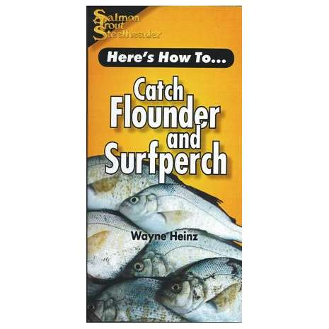 Fishing :Here's How To: Catch Flounder and Surfperch (Pocket Guide)