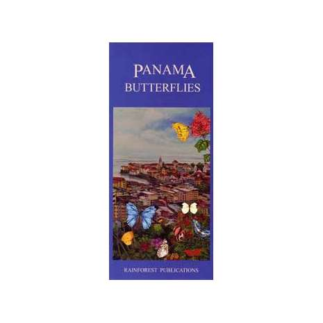 Insect Identification Guides :Panama: Butterflies (Folding Pocket Guide)