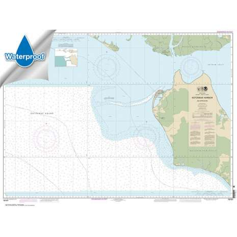 Waterproof NOAA Charts :Waterproof NOAA Chart 16161: Kotzebue Harbor and Approaches