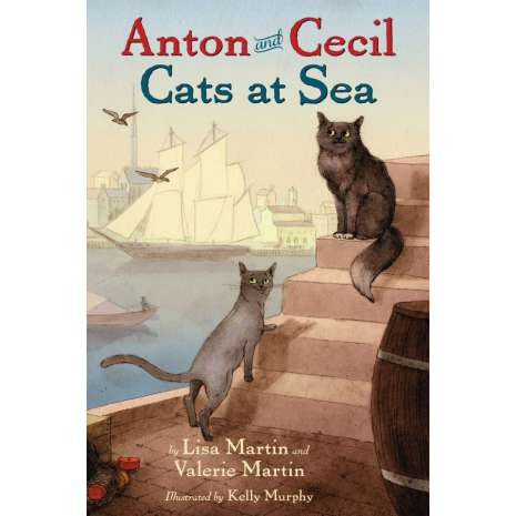 Young Adult & Children's Novels :Anton and Cecil: Cats at Sea