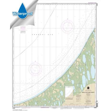 Waterproof NOAA Charts :Waterproof NOAA Chart 16083: Skull Cliff and vicinity