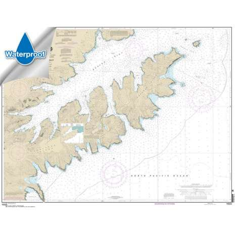 Waterproof NOAA Charts :Waterproof NOAA Chart 16522: Beaver Inlet