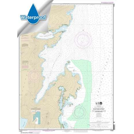 Waterproof NOAA Charts :Waterproof NOAA Chart 17331: Chatham Strait Ports Alexander: Conclusion: and Armstrong