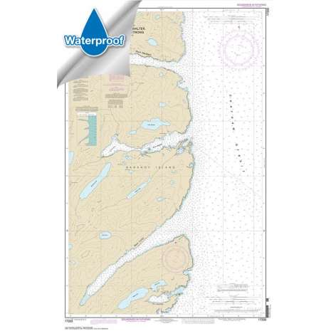 Waterproof NOAA Charts :Waterproof NOAA Chart 17333: Ports Herbert: Walter: Lucy and Armstrong