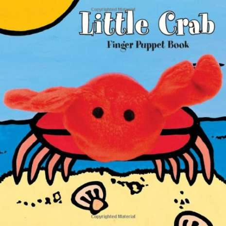 Fish, Sealife, Aquatic Creatures :Little Crab: Finger Puppet Book
