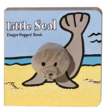 Fish, Sealife, Aquatic Creatures :Little Seal: Finger Puppet Book