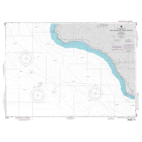 Region 1 - North America :NGA Chart 18723: Point Conception to Point Arguello
