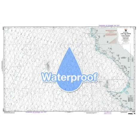 Region 2 - Central, South America :Waterproof NGA Chart 21005: Cabo San Quintin to Punta Eugenia