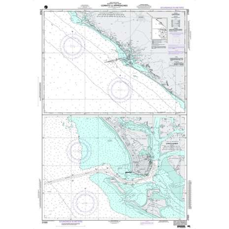 Region 2 - Central, South America, NGA Chart 21525: Corinto and Approaches